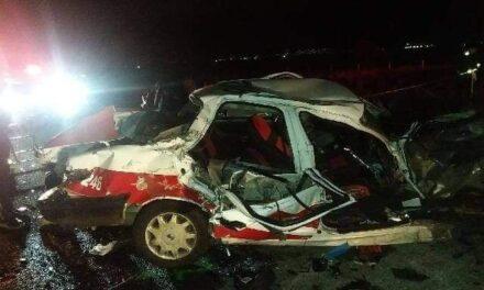 Se salvaron de milagro! Taxi de Coatepec sufre accidente en la carretera Xalapa – Perote