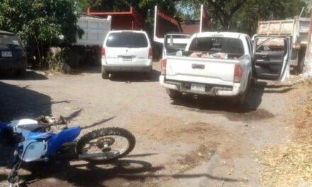 Seguridad Pública confirma rescate de dos personas, decomiso de vehículos y armas, en Úrsulo Galván