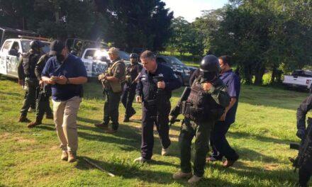 Secretario de SSP encabezó operativo para inhibir la incidencia delictiva en la zona sur de Veracruz.