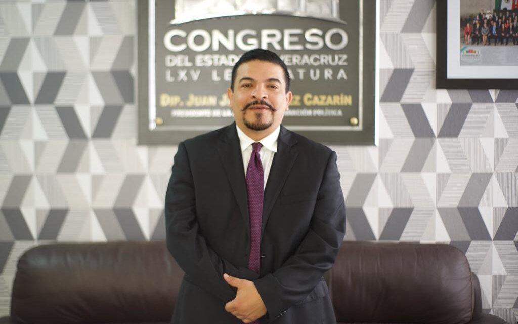 El general caído Parlamento Veracruz Juan Javier Gómez Cazarín