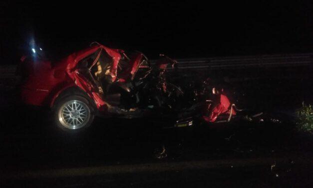 Fuerte accidente en la carretera federal Xalapa-Perote, a la altura de Encino Gacho Municipio de Las Vigas