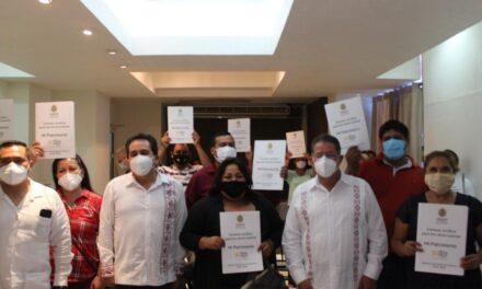 Gobierno de la 4T otorga seguridad patrimonial a familias del Norte de Veracruz: Pozos Castro