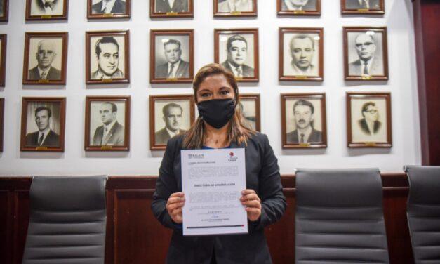 RINDE PROTESTA NUEVA DIRECTORA DE GOBERNACIÓN DEL AYUNTAMIENTO DE XALAPA