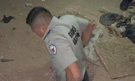 Guardia Nacional localiza túnel en Sonora con salida a Estados Unidos