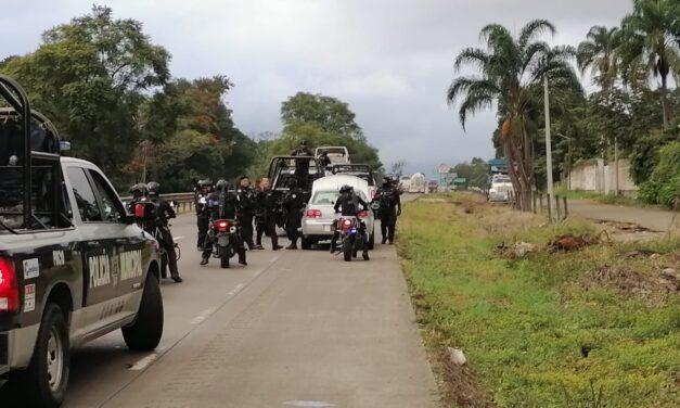 Se registra balacera en autopista Córdoba-Orizaba; hay un detenido