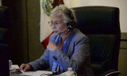 """La situación en el sistema de justicia son """"demoledores"""" y reflejan el nivel de impunidad en nuestro país: Olga Sánchez Cordero"""