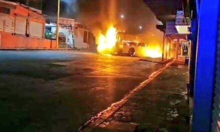 Reporta SSP Veracruz detención de cinco personas por narco bloqueos