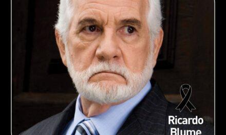 Fallece a los 87 años de edad el querido actor Ricardo Blume