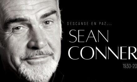 ¡Adiós 007!; Muere Sean Connery, el James Bond más icónico del cine