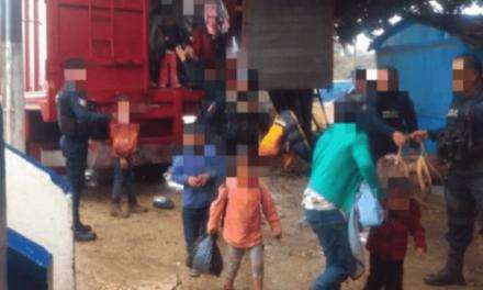 Rescata SSP a 221 migrantes en cuatro municipios; 11 detenidos por presunto tráfico de personas