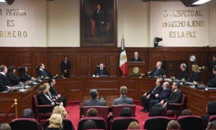 Con 6 votos a favor y 5 en contra ministros de la SCJN declaran constitucional sobre consulta de juicio a ex presidentes de la República.