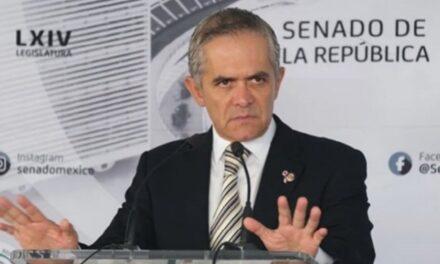 Inhabilitan un año a Mancera por intervenir en campaña presidencial de 2018