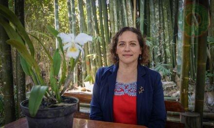 Pertenezco a una familia que ama la naturaleza: Rebeca Menchaca