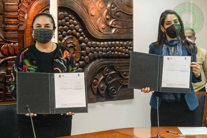 Titulares de la UV y FGEV firmaron el convenio de colaboración