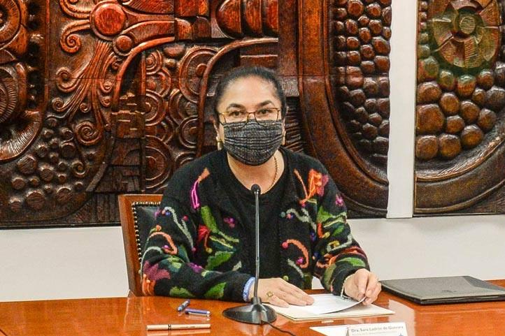 Sara Ladrón de Guevara expresó que el convenio contribuirá al sistema de justicia