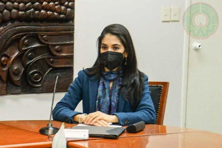 Verónica Hernández reiteró la plena disposición de la fiscalía para apoyar de manera incondicional y permanente a la Universidad