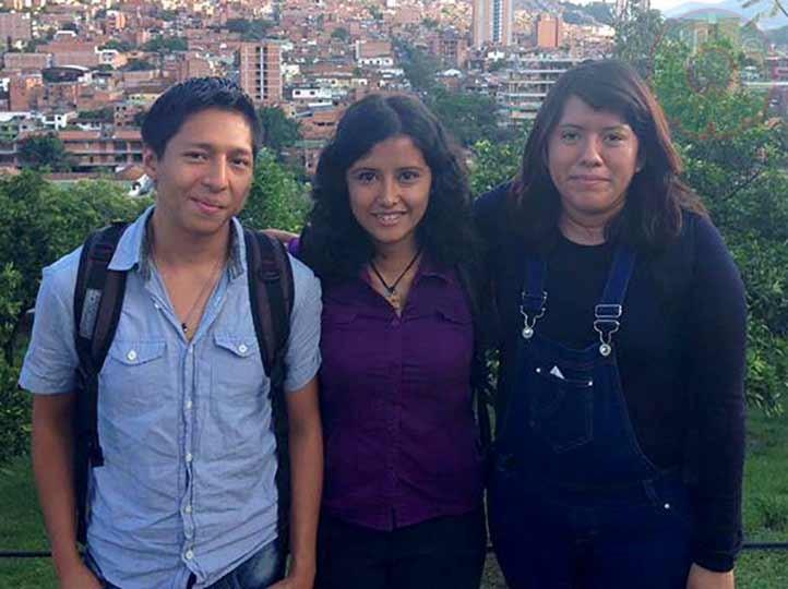 Paulo Esaú Peredo, Astrid Evelyn Rodríguez y Karen Nayely Romero, son los primeros egresados con doble titulación del ITM y la UV
