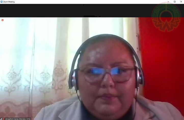 Abigahid Vianey Morales Ortiz dijo que es necesario se redefina el papel de la enfermería