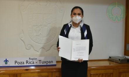 Claudia González Cobos, nueva coordinadora del Área Básica en Poza Rica-Tuxpan