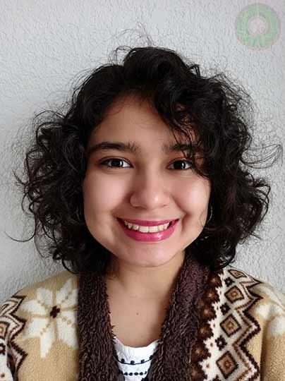Melissa Yaeth Paredes Cabrera cursa el tercer semestre y recibió nota laudatoria
