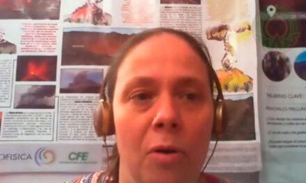 """""""Hay que aprender a convivir con los volcanes"""": Katrin Sieron"""