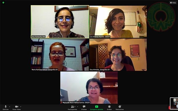 Académicas de la UV integrantes del comité organizador del CIGE 2021