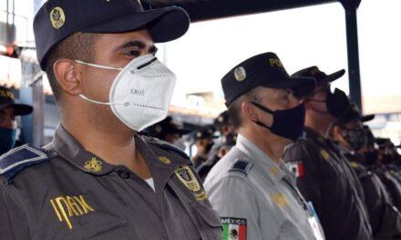 Policías del IPAX participan en el operativo del Buen Fin y garantiza la seguridad patrimonial de los veracruzanos