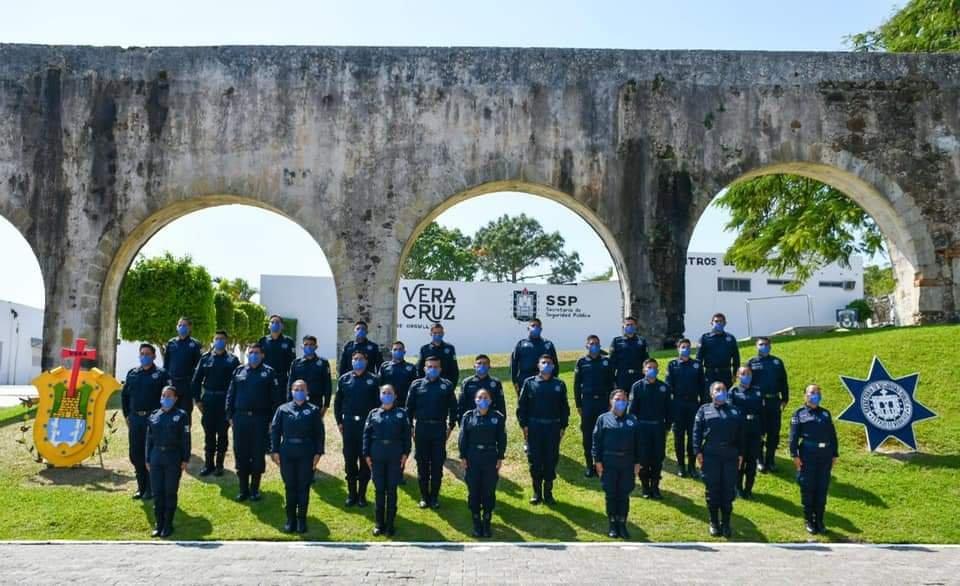 Avanza Veracruz en fortalecimiento de las policías municipales para recuperar La Paz