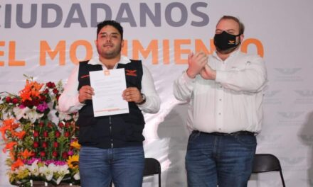 Toma protesta Guillermo Herrada, como coordinador municipal del MC en Medellín