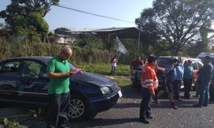 Accidente en la carretera Córdoba-Veracruz; 6 personas resultaron heridas