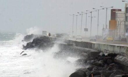 A partir del domingo se sentirá nuevo frente frío en zona conurbada Veracruz-Boca del Río