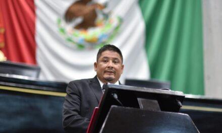 Rinde el diputado Ríos Uribe su último Informe en la Presidencia