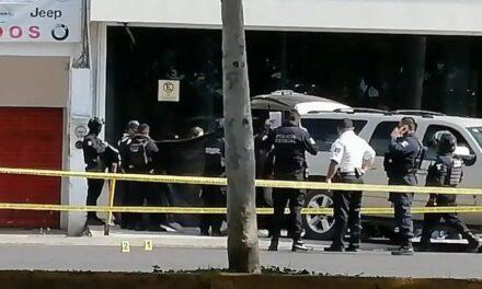 Dos muertos y un herido en el centro de Poza Rica, Veracruz
