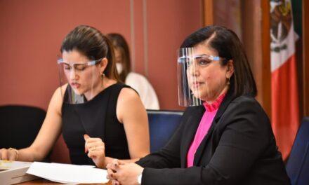 Comisión de Hacienda analizará el Proyecto de Presupuesto Estatal: Rosalinda Galindo