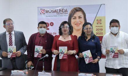 Rosalinda Galindo da a conocer parte de su Segundo Informe de actividades