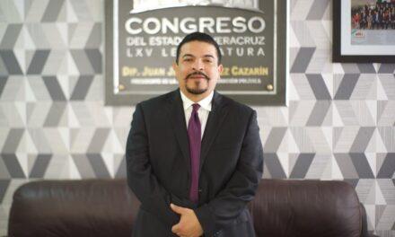 Cuitláhuac, dos años Parlamento Veracruz  Juan Javier Gómez Cazarín