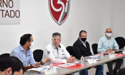 Presenta Hugo Gutiérrez Maldonado Operativo Buen Fin 2020, a los alcaldes de Veracruz, Boca del Río y cámaras empresariales