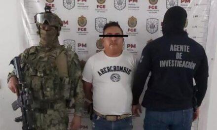 Detienen en Veracruz a lugarteniente de El Marro