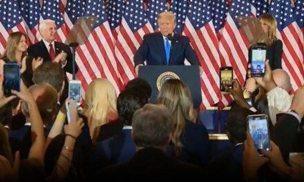 Donald Trump califica como fenomenales los resultados de hoy y asegura que están listos para celebrar