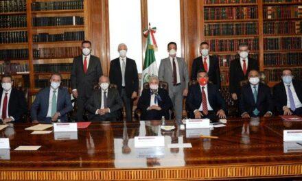 Sánchez Cordero se reúne con gobernadores del PRI