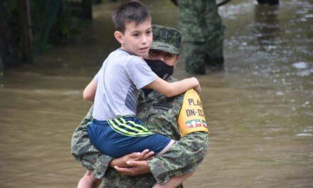 Por qué se inunda Tabasco?