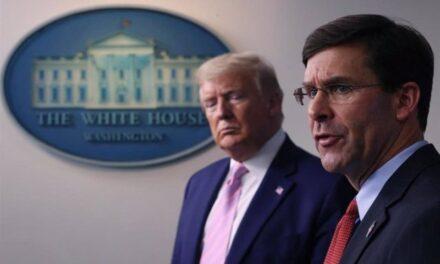 Trump despide a su secretario de Defensa