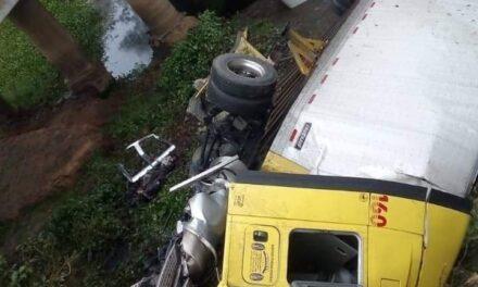 Accidente en la carretera Sayula – Cosamaloapan