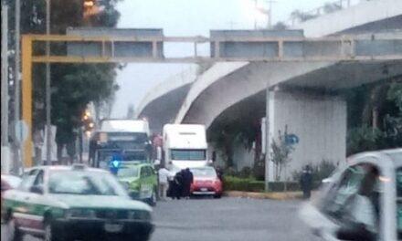 Precaución: Accidente de tránsito sobre Lázaro Cárdenas esquina Américas