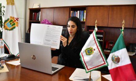 Fiscalía Especializada en Delitos Electorales firma convenio de colaboración con la Fiscalía de Veracruz para evitar irregularidades en las próximas elecciones 2020-2021.