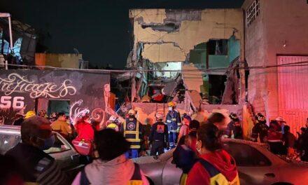 Así fue la explosión en la colonia Morelos de la CDMX que dejó al menos 2 personas fallecidas y varios heridos