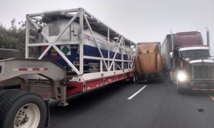 Precaución: Accidente en la carretera accidente  Córdoba – Puebla