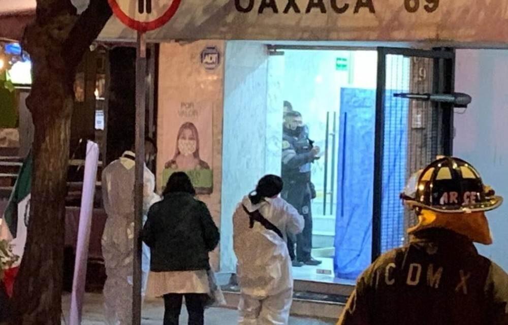 Muere hombre al caer de un elevador en la Colonia Roma; Fiscalía investiga