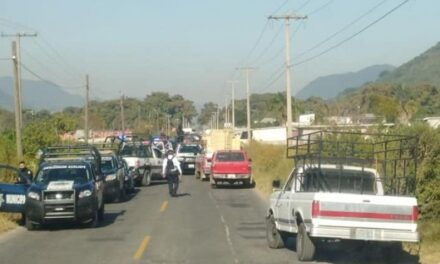 Persecución armada sobre carretera Cd. Mendoza-Acultzingo