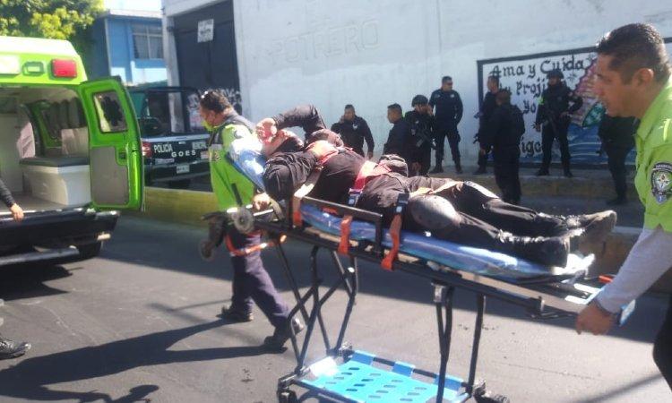 Un muerto y heridos en enfrentamiento de taxistas y policías en Ecatepec